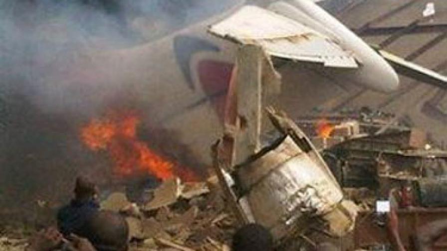 Над 140 жертви от разбилия се самолет в Нигерия
