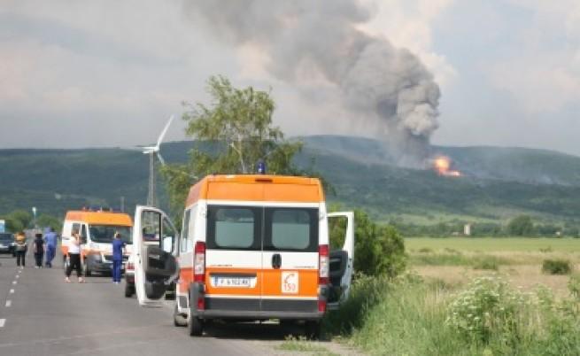 Взрив в склад край Петолъчката, има ранени