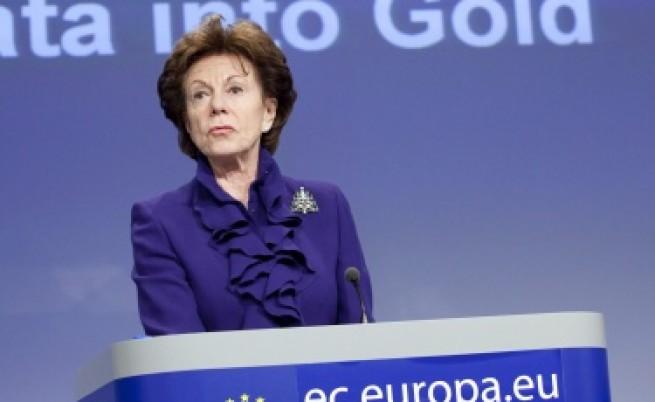 Еврокомисар: Ситуацията с българските медии е тревожна
