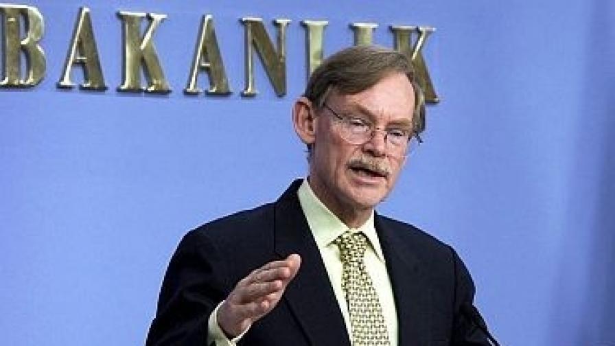Президентът на Световната банка Робърт Зелик, чийто мандат изтича в края на юни