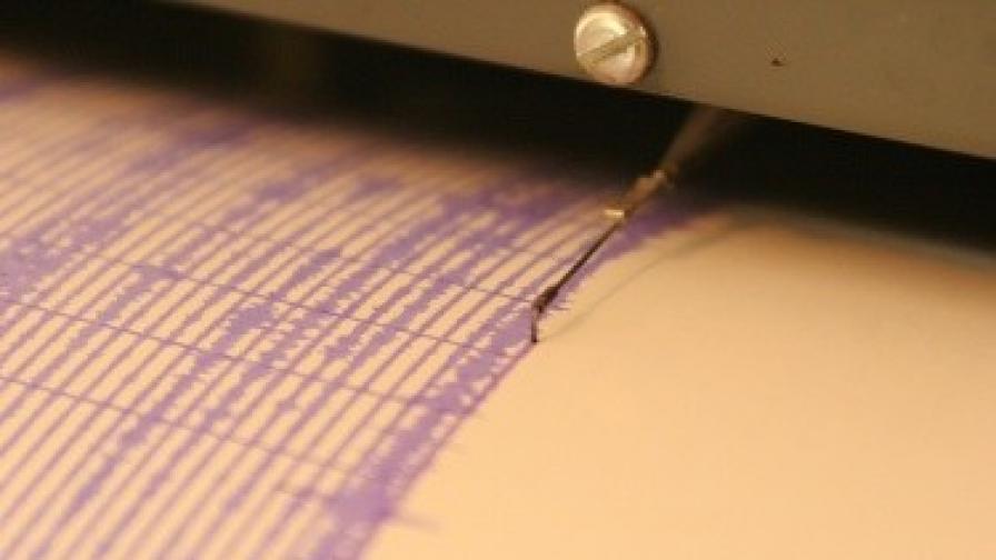 Земетресение от 3,1 по Рихтер в Североизточна България