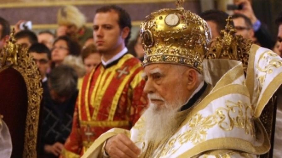 Българският патриарх Максим (снимка от 29 април 2012 г.)
