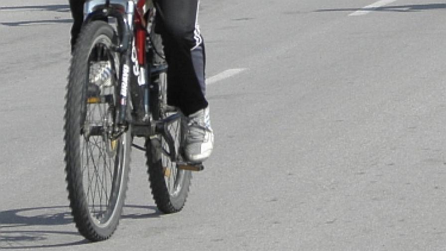 Инцидент с велосипедист и кмета на Плевен