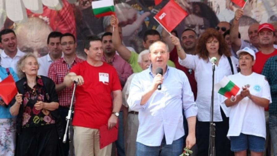 Сергей Станишев, председател на БСП: Имаме срещу себе си арогантна, безхаберна, власт, разбойници облечени във власт