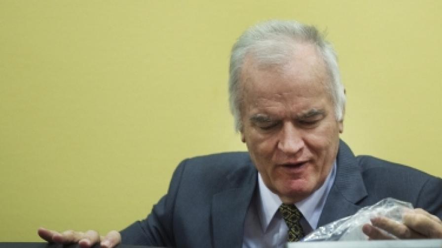 Ратко Младич в Международния наказателен съд в Хага