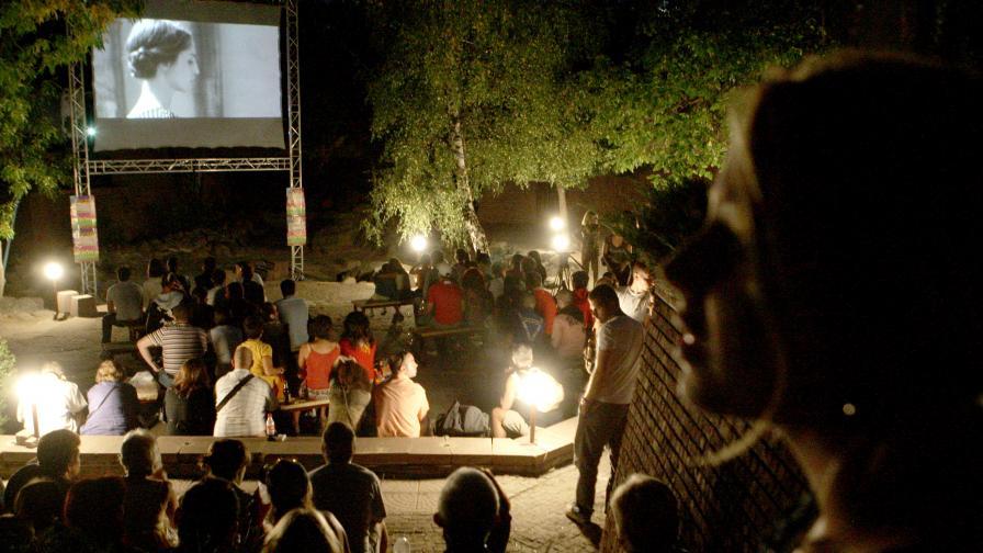 Кинопрожекции пред блока