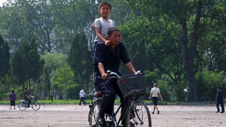 Севернокорейките вече имат право да карат колело
