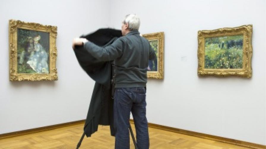 Американка случайно си купи картина на Реноар за $50 от битак