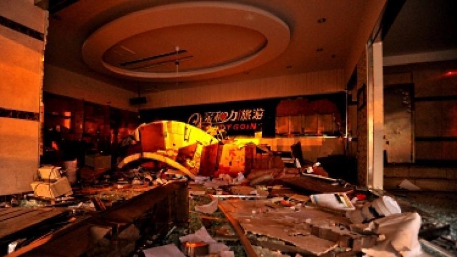 В Китай на нападения са подложени множество японски компании, ресторанти и супермаркети