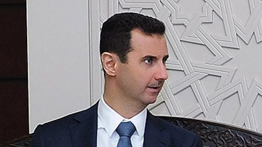 Дават 25 млн. долара за главата на Башар Асад