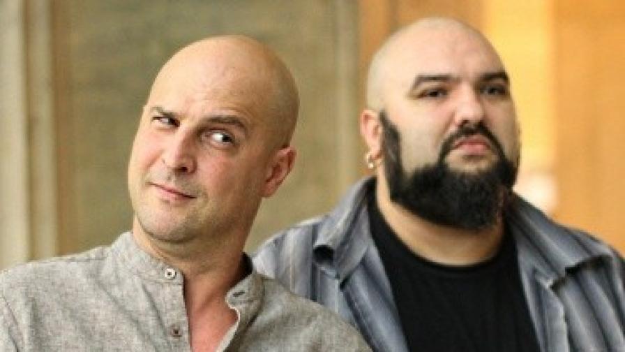 Светослав Витков и Венцислав Мицов, който бе кандидат за вицепрезидент на последните избори