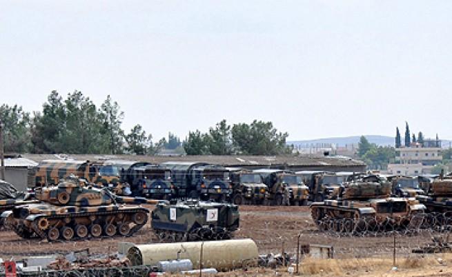 Въоръжените сили на Турция са приведени в повишена бойна готовност