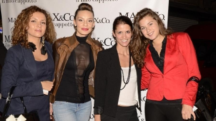 Част от звездите гости, които видяха модното шоу на марката
