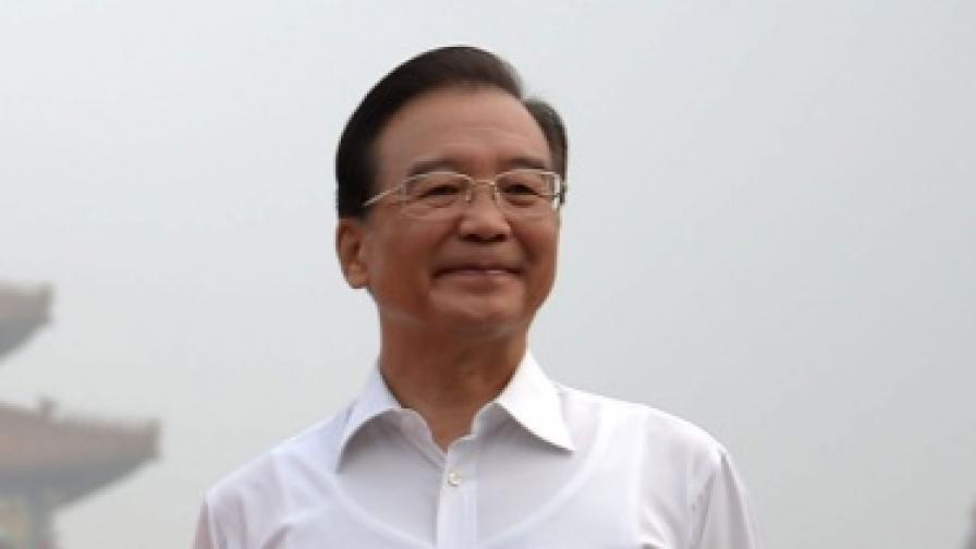 Премиерът на Китай Вън Цзябяо
