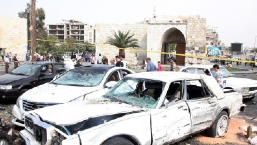 Бомбардировки в Сирия въпреки примирието