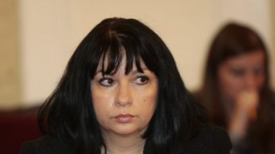 Теменужка Петкова, директор на Агенцията за държавна финансова инспекция (АДФИ)