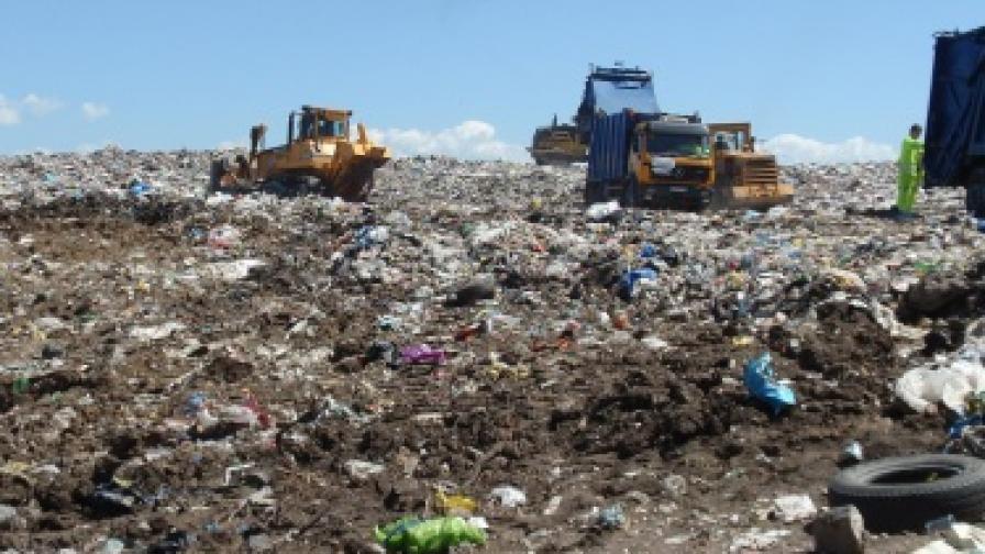 В Ботевград откриха първото регионално депо за отпадъци в България