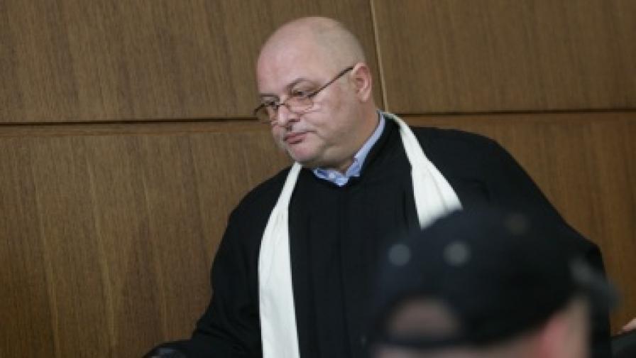 Нападнат е съдията от СГС Мариян Марков