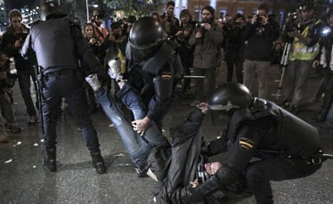 Стачките доведоха до сблъсъци в Испания, Италия и Португалия