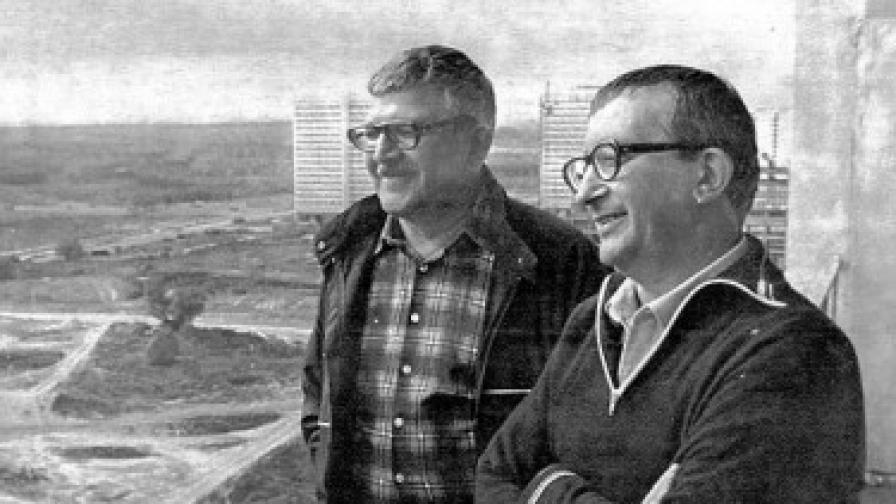 Братята Аркадий и Борис Стругацки през 80-те