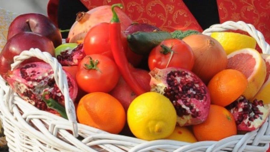 90% от плодовете и зеленчуците на българския пазар са вносни