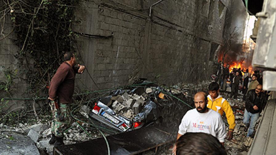 Сирия: Двоен атентат и свален изтребител