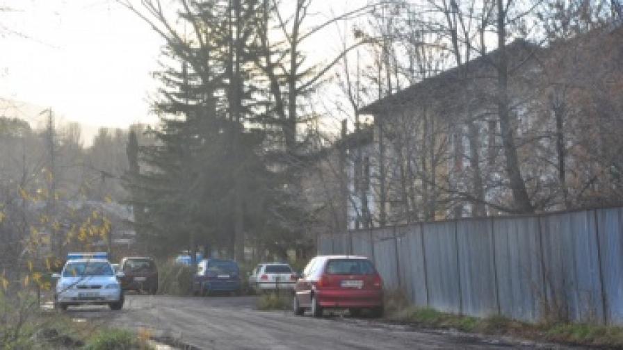 Административната сграда на Централната обогатителна фабрика в Перник
