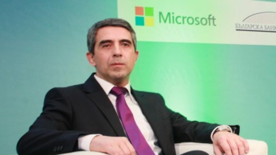Плевнелиев предлага пакт за усвояването на еврофондовете