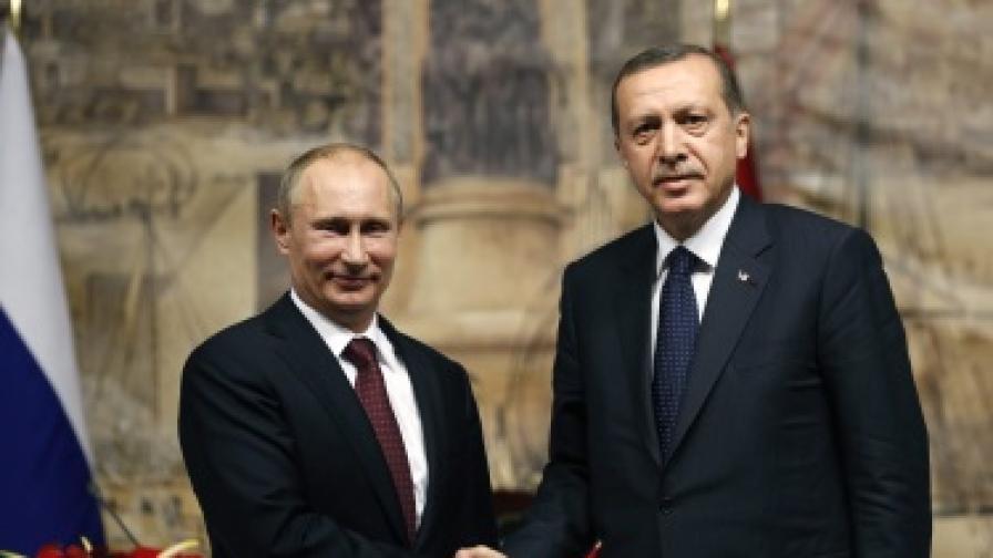 Путин иска да се сдобри с Турция в сряда