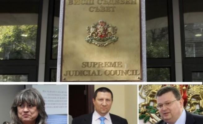 Етичната комисия на ВСС изслушва кандидатите за главен прокурор