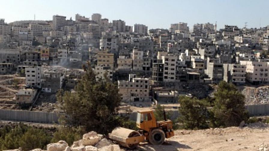Израел разреши да започне строеж на голяма колония на Западния бряг