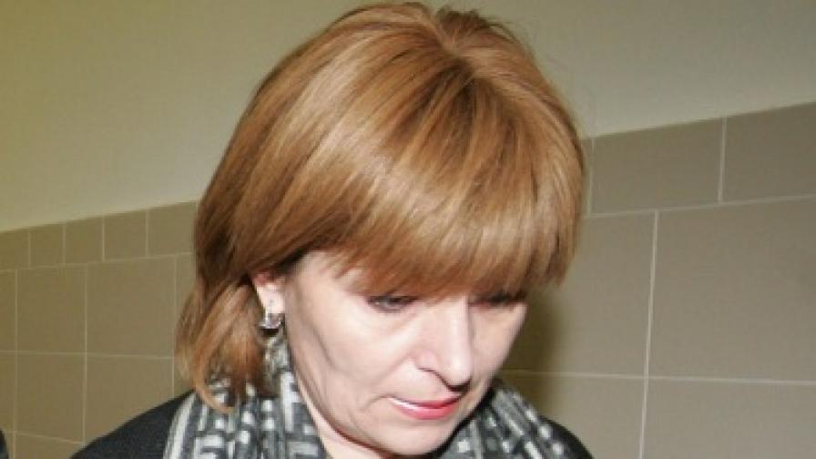 """Камелия Бончева по време на процеса срещу """"Наглите"""""""