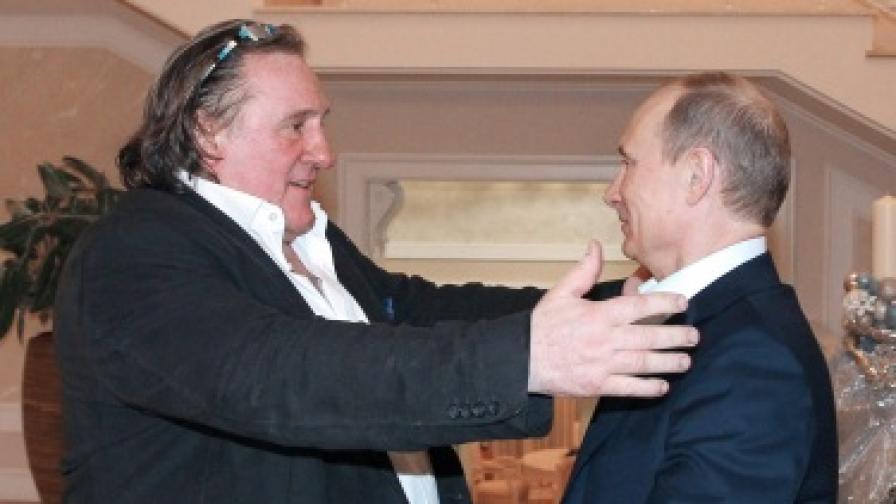 В Русия предложиха на Депардийо министерски пост