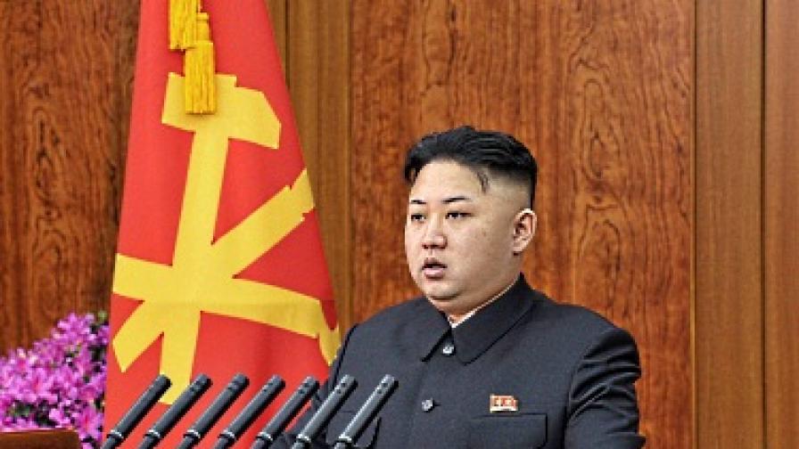 Ким Чен-ун почерпи севернокорейчетата
