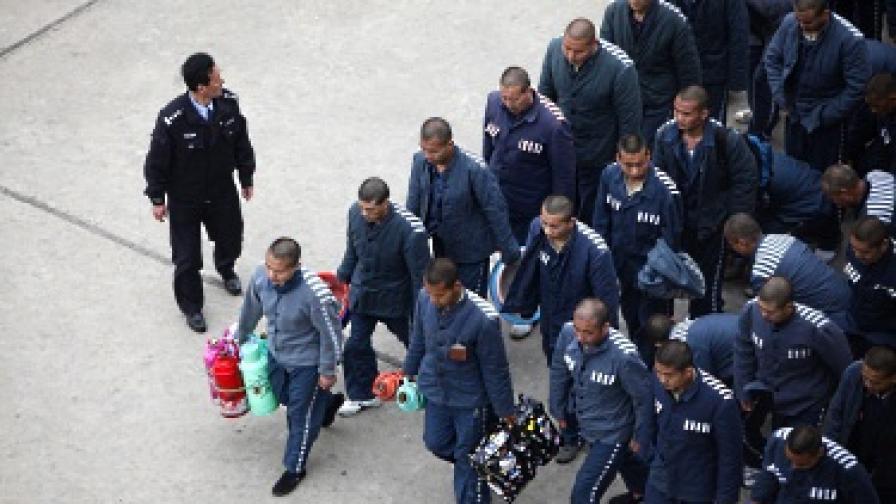 Китайски затворници