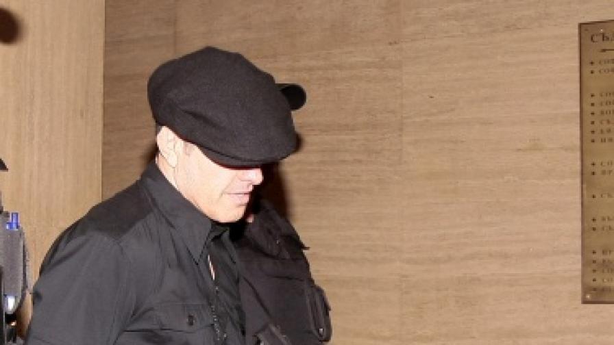 Евелин Банев - Брендо в съда в София