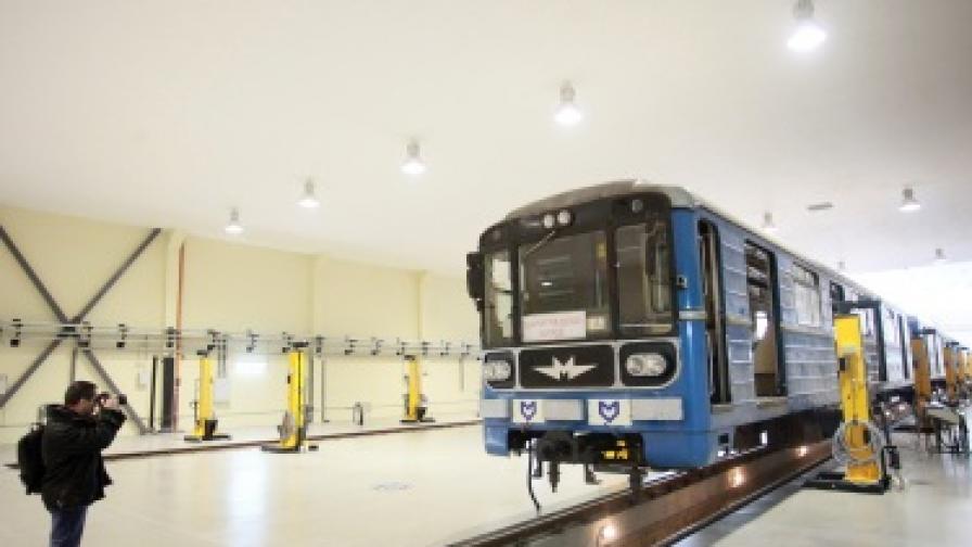Нов завод за ремонт на метровлакове в София