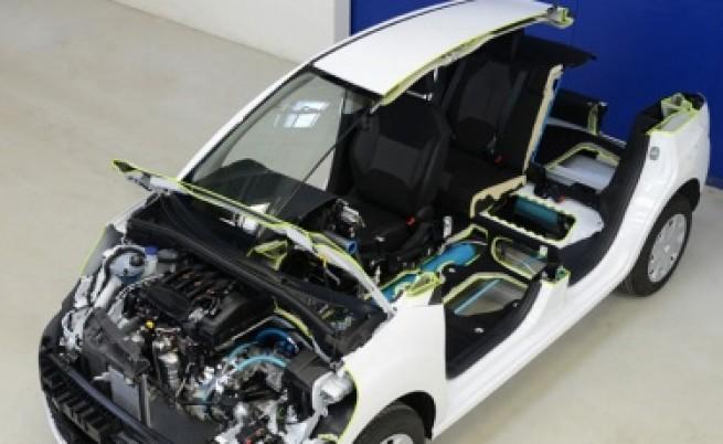 Кола на сгъстен въздух от
