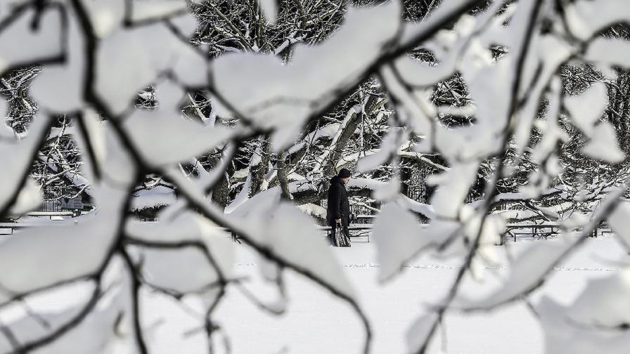 Жълт код за снеговалежи в пет области