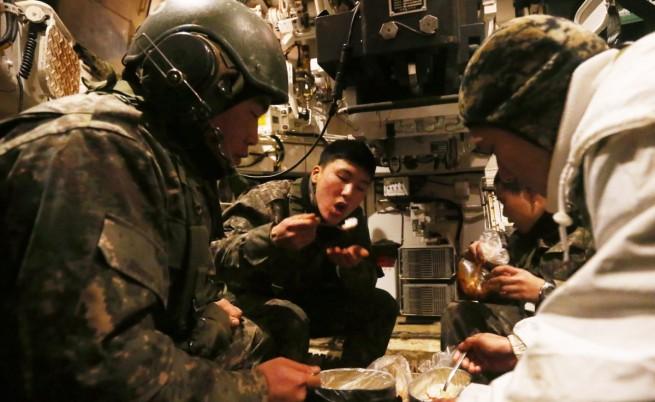 САЩ и Южна Корея с мащабно военно учение