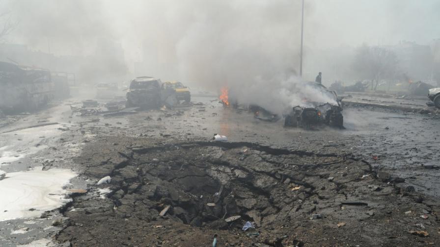 Кола бомба уби 53 души до руското посолство в Дамаск