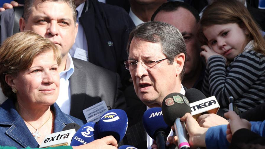 Кипър има нов президент - Никос Анастасиадис