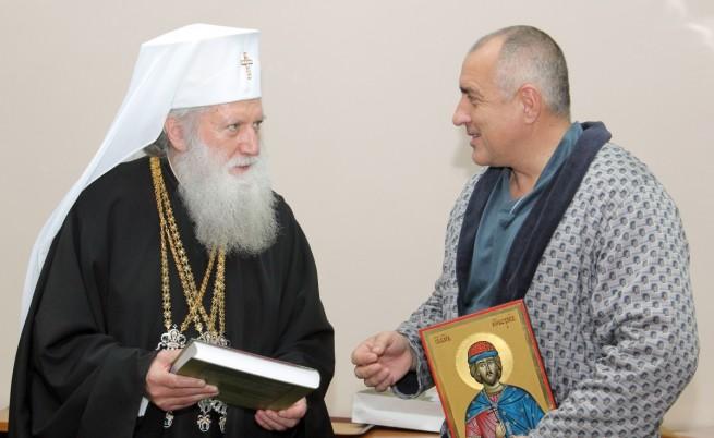 Светият Синод ще награди Борисов с най-високото си отличие