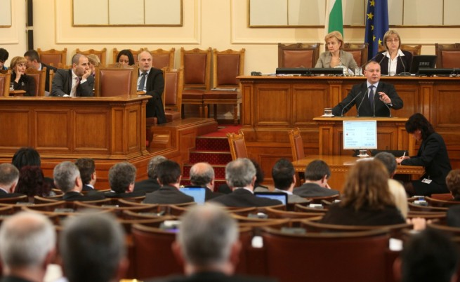 Опозиционните лидери за речта на президента и служебното правителство