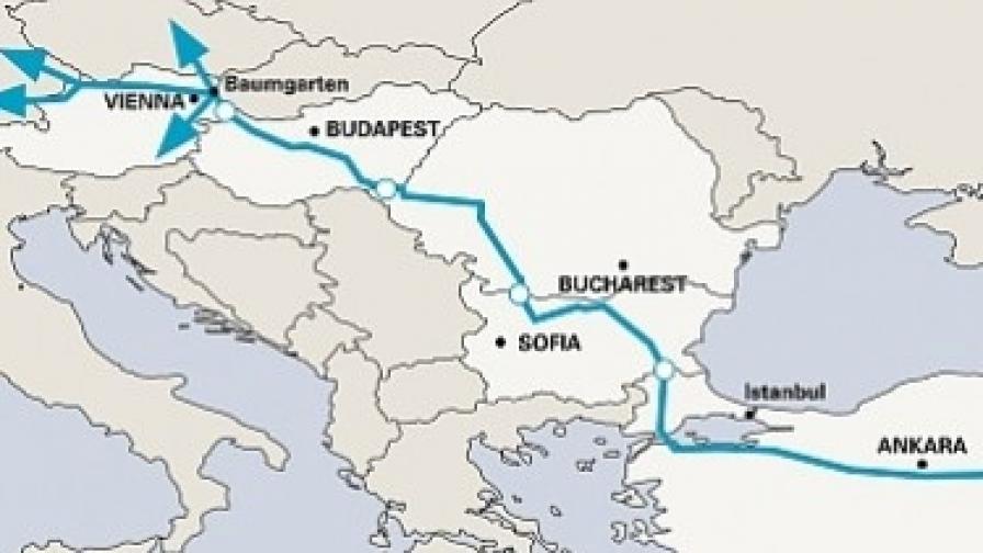 """""""Набуко"""" се разбра с Трансанадолския газопровод"""