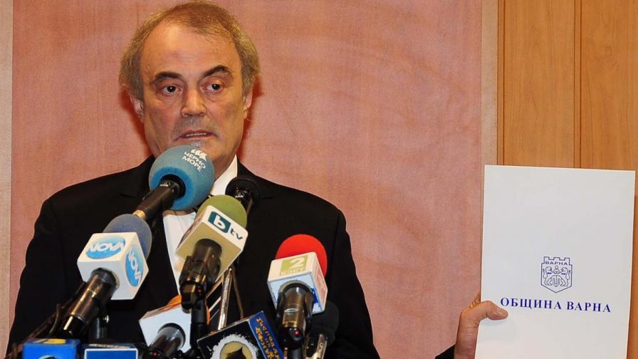 Кметът на Варна Кирил Йорданов подаде оставка