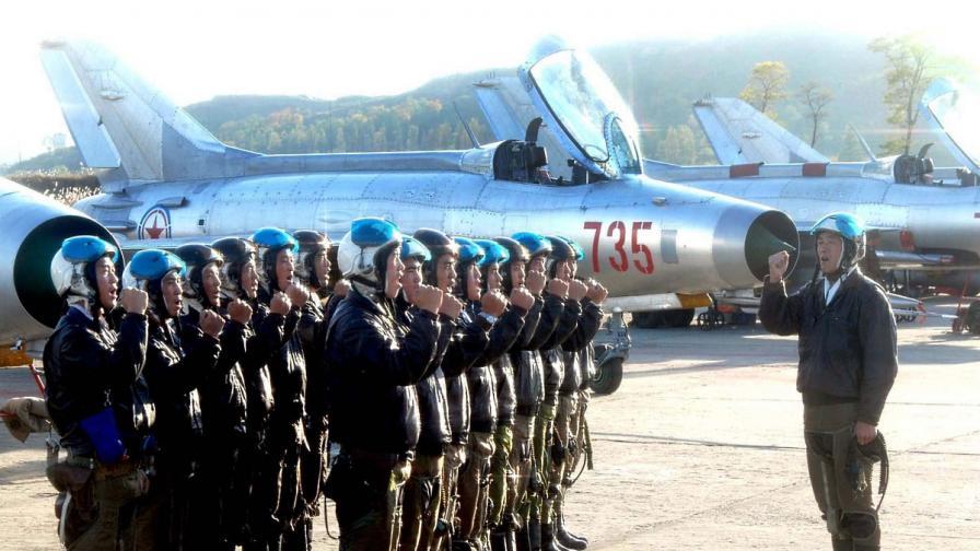 Севернокорейски пилоти