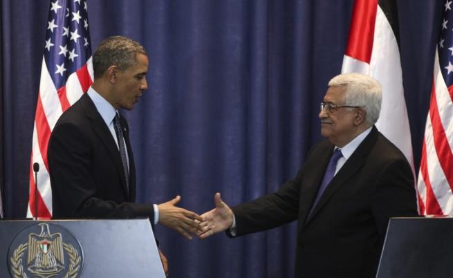 И Обама, и Абас призоваха за създаване на палестинска държава
