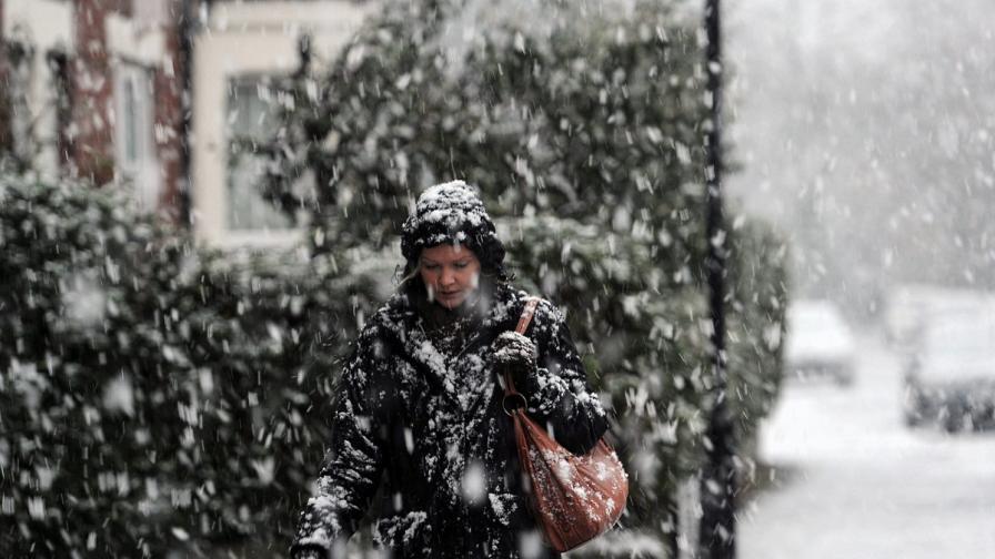Сняг и дъждове в Ирландия, Великобритания и Румъния