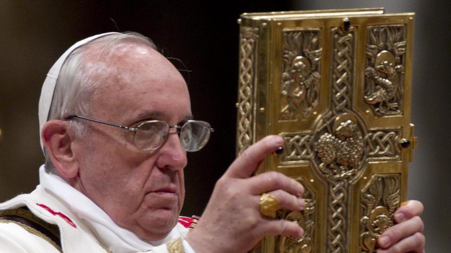 Папа Франциск: Допуснете Господ до душите си